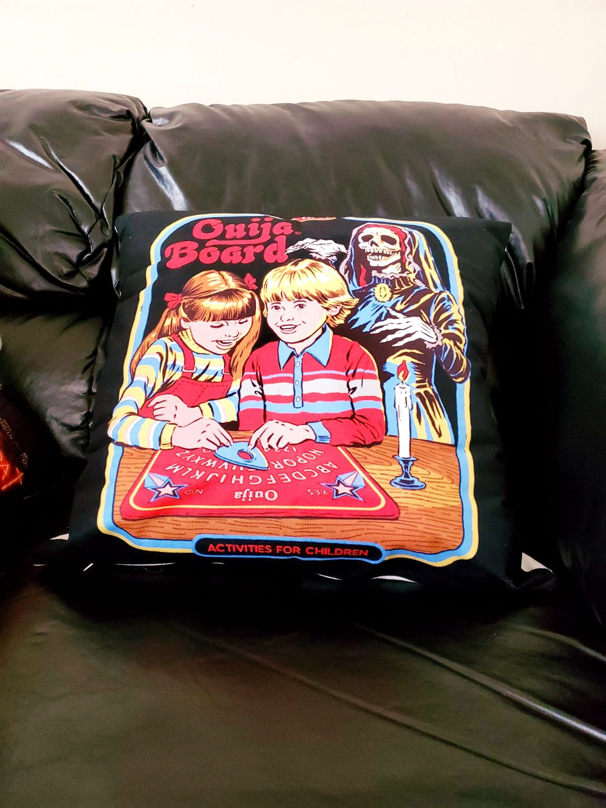 Funny Horror Ouija 18x18 Pillowcase