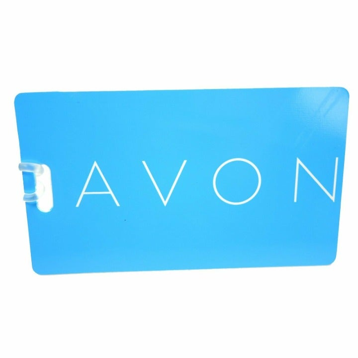 Avon Luggage Tag (Blue)