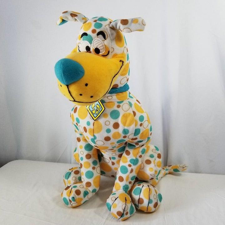 "Large 20"" Scooby Doo Plush Polka Dots"