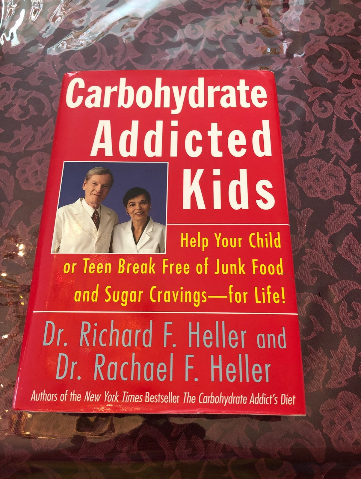Carbohydrate addicted kids book