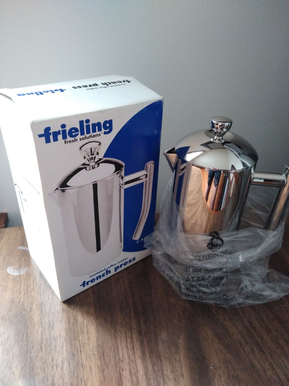 Frieling Polished Stainless French Coffe