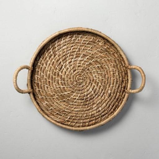 Hearth and Hand Woven Circular Tray