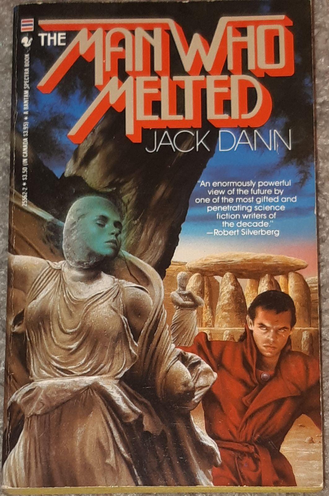 The Man Who Melted 1985 Vtg Paperback VG
