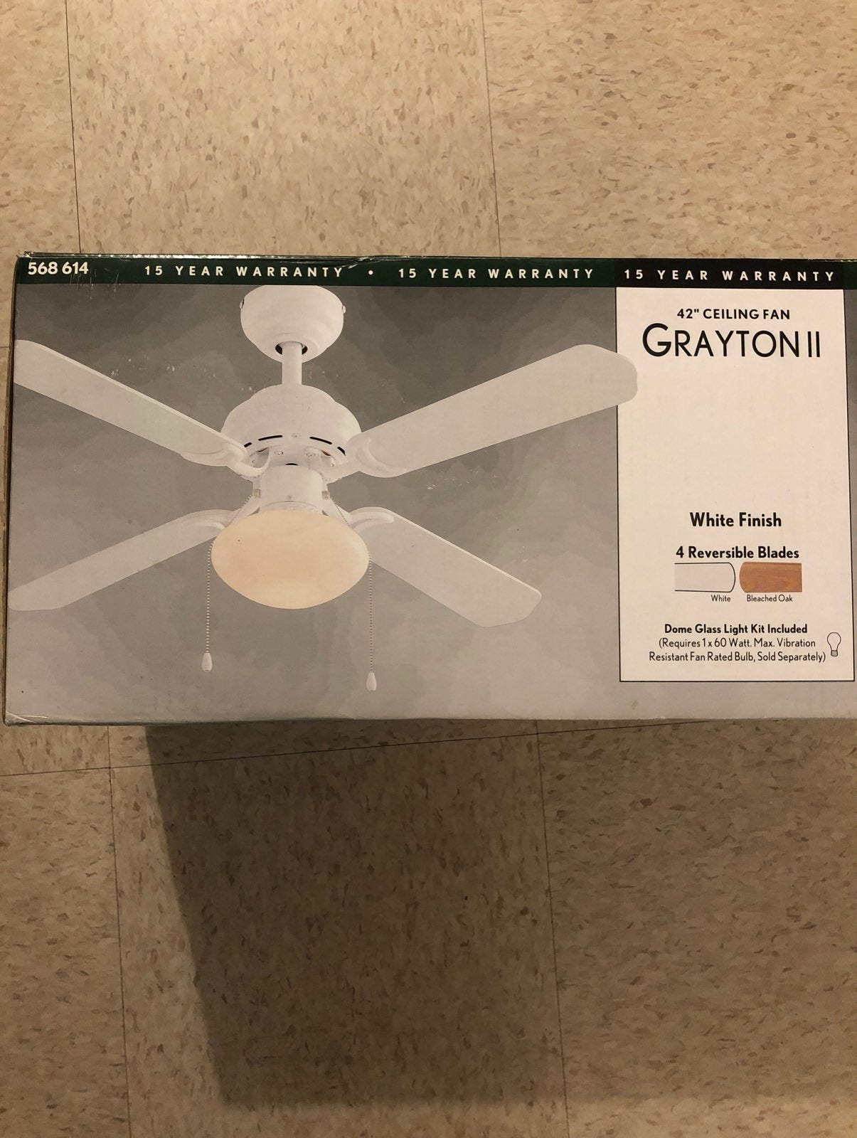 "42"" ceiling fan / grayton 2"