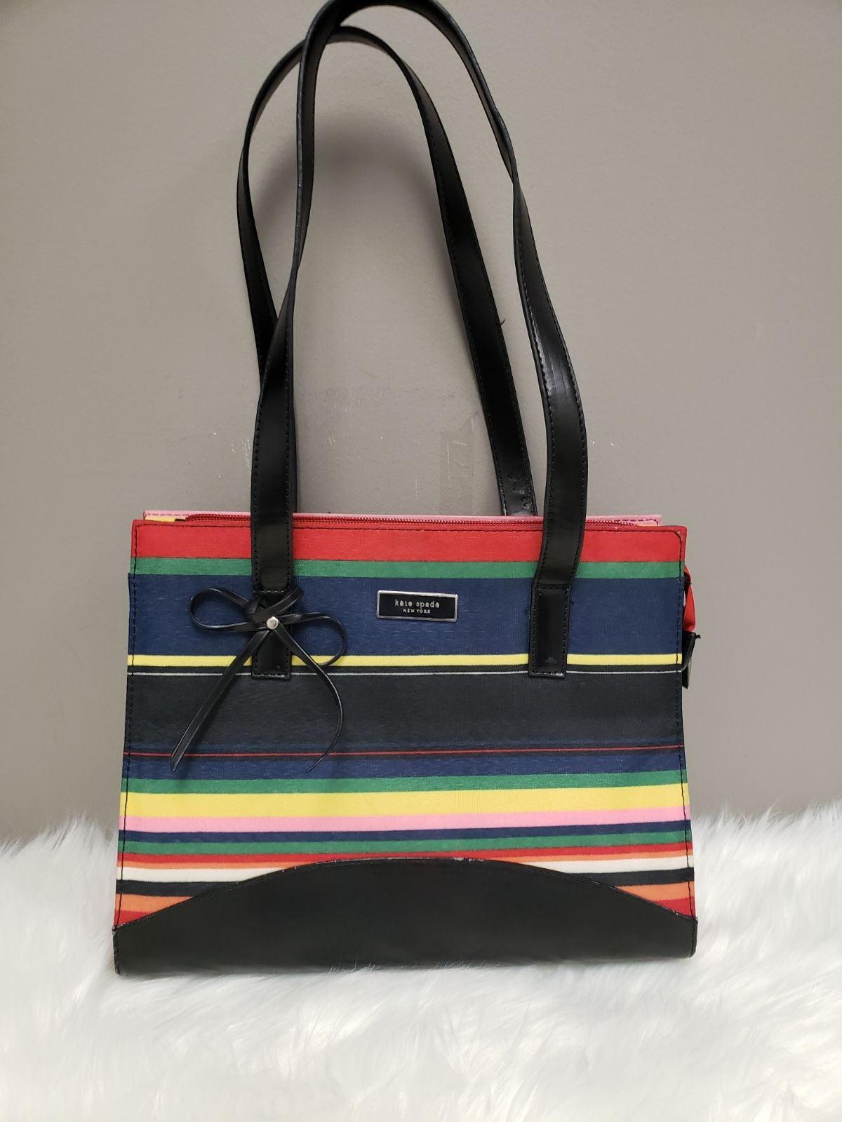 Kate Spade New York striped bag