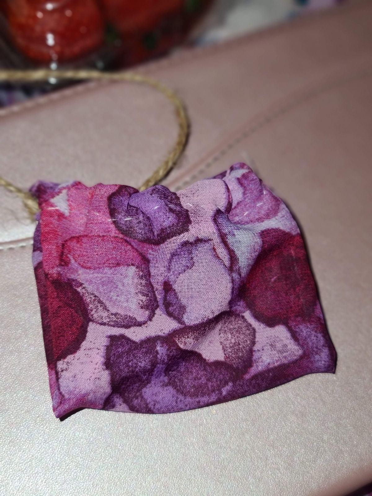 Hand sewn pouches