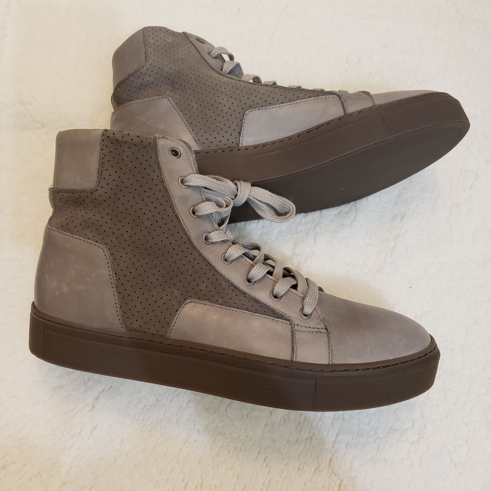 All Saints sneaker boots size 9