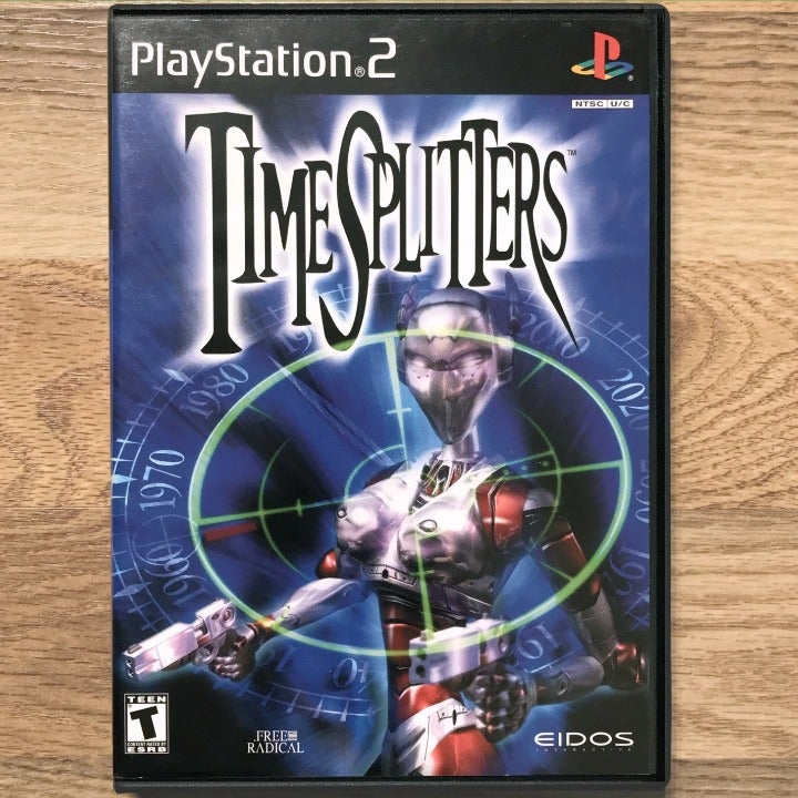 TimeSplitters PlayStation 2 PS2 Game