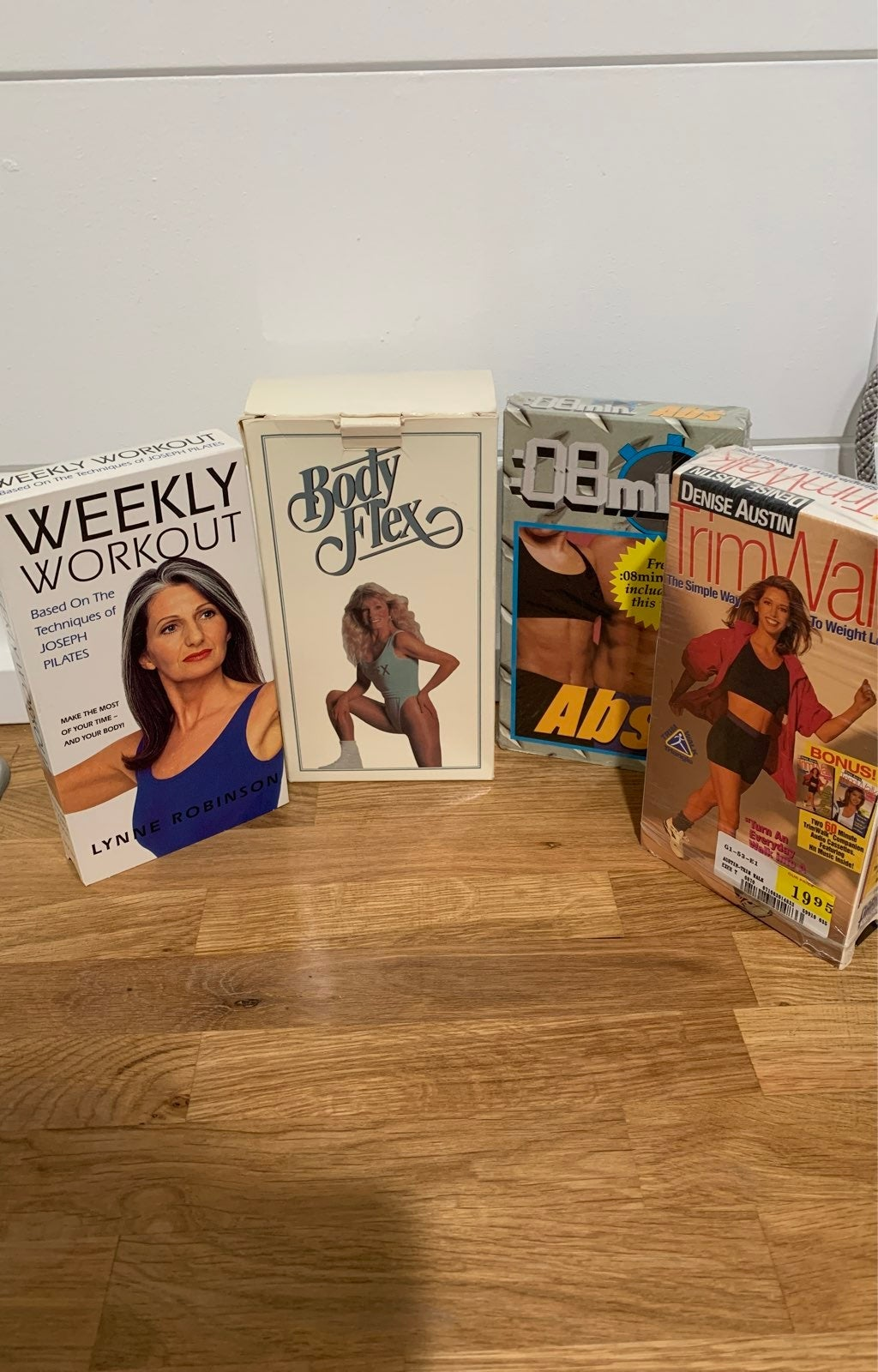 Workout VHS Tapes