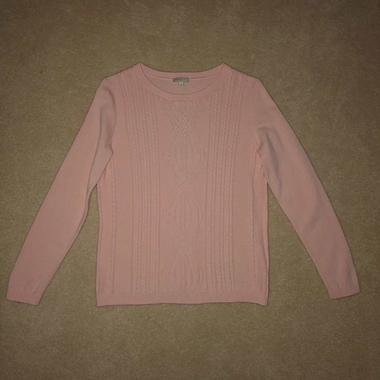 Talbots Ladies Long Sleeve Sweater Sz P
