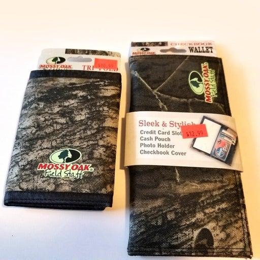 Mossy Oak Checkbook Cover & Wallet