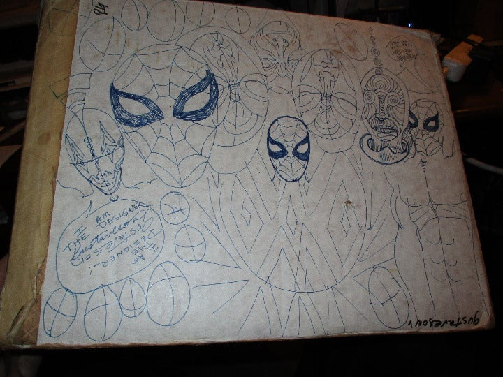 Spider-man Drawings from 25 years ago