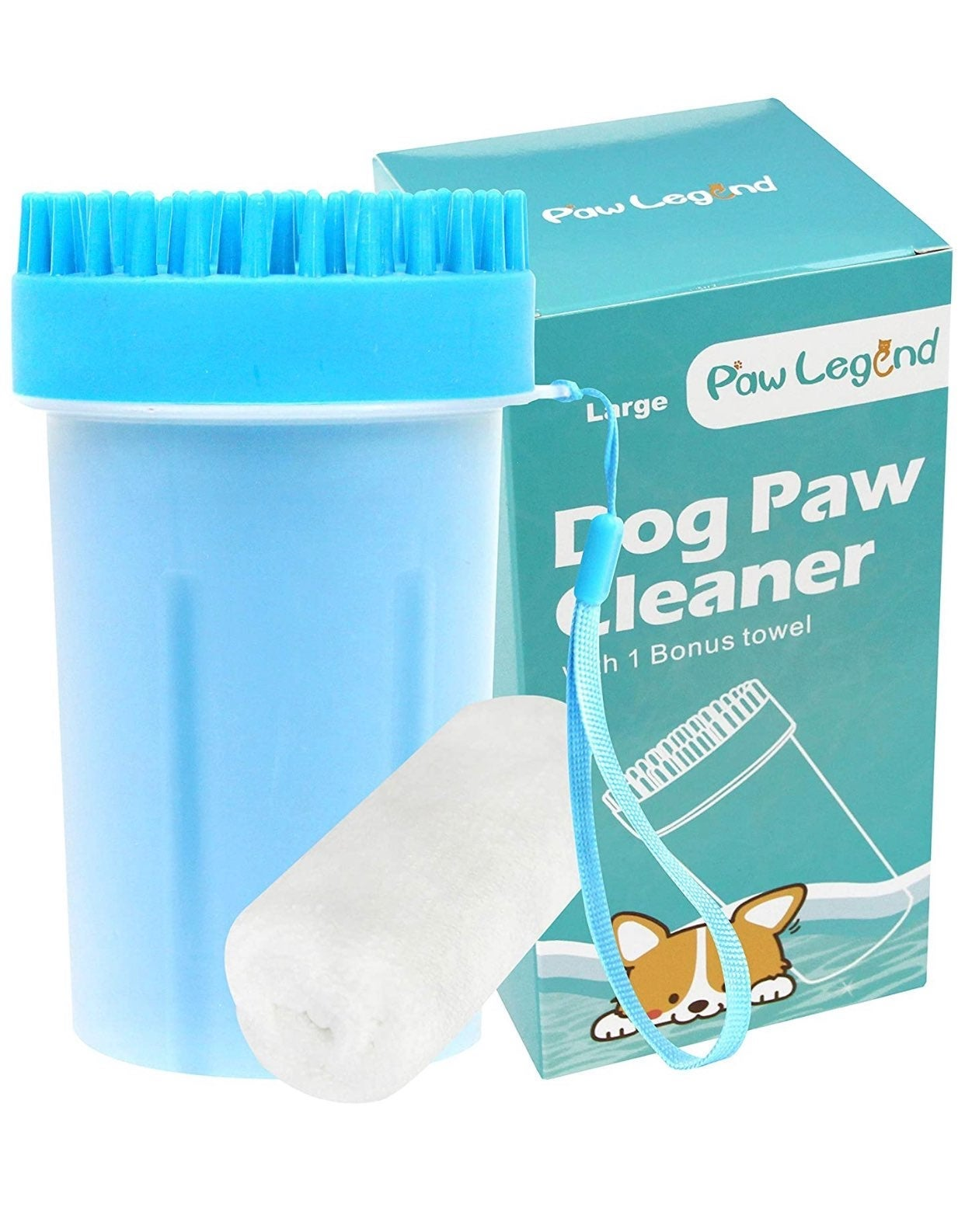 Dog Paw Cleaner blue