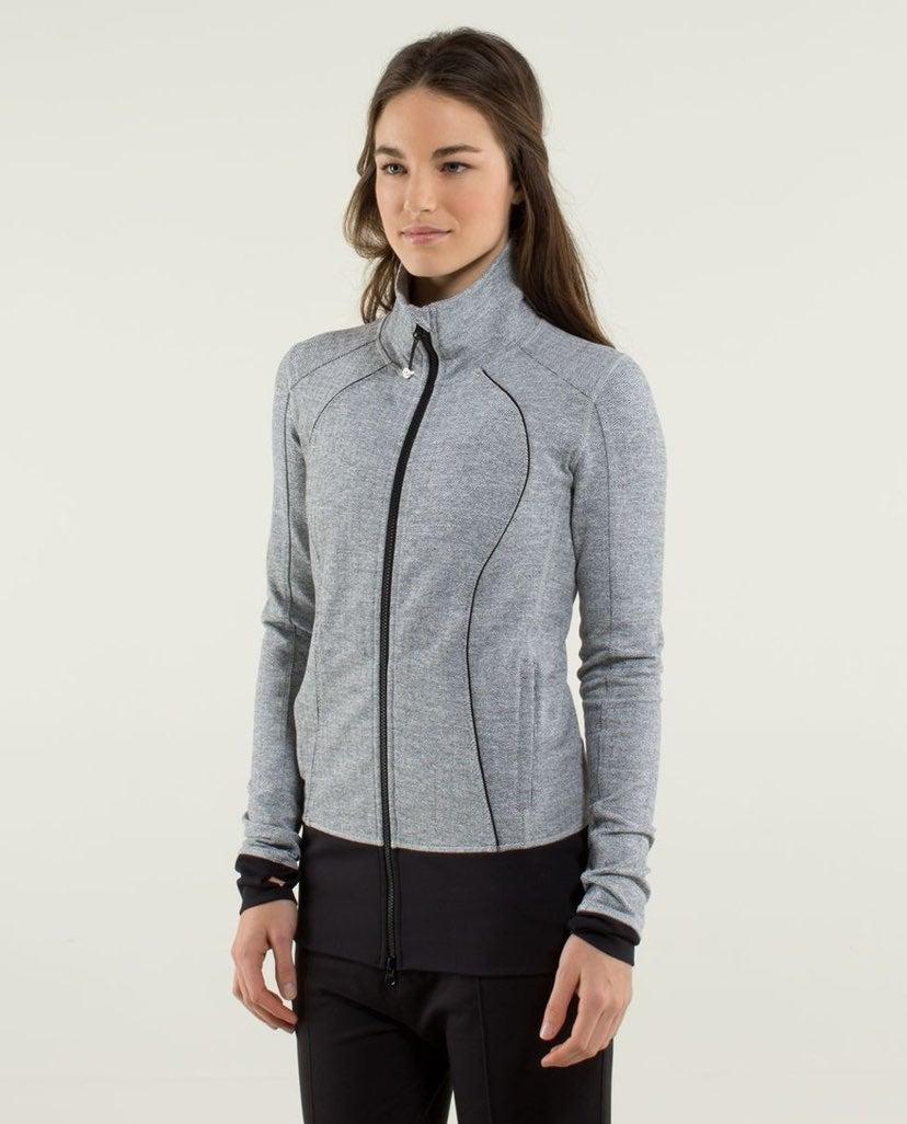 lululemon nice asana herringbone jacket