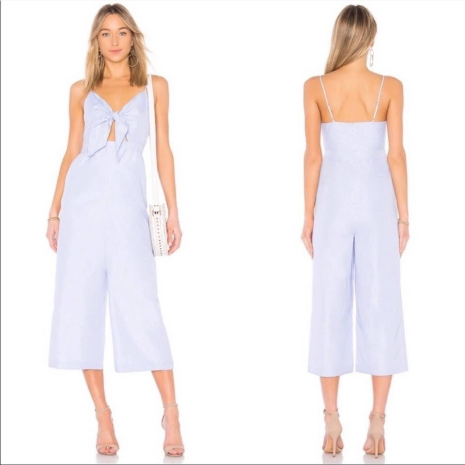 English Factory Striped Jumpsuit S