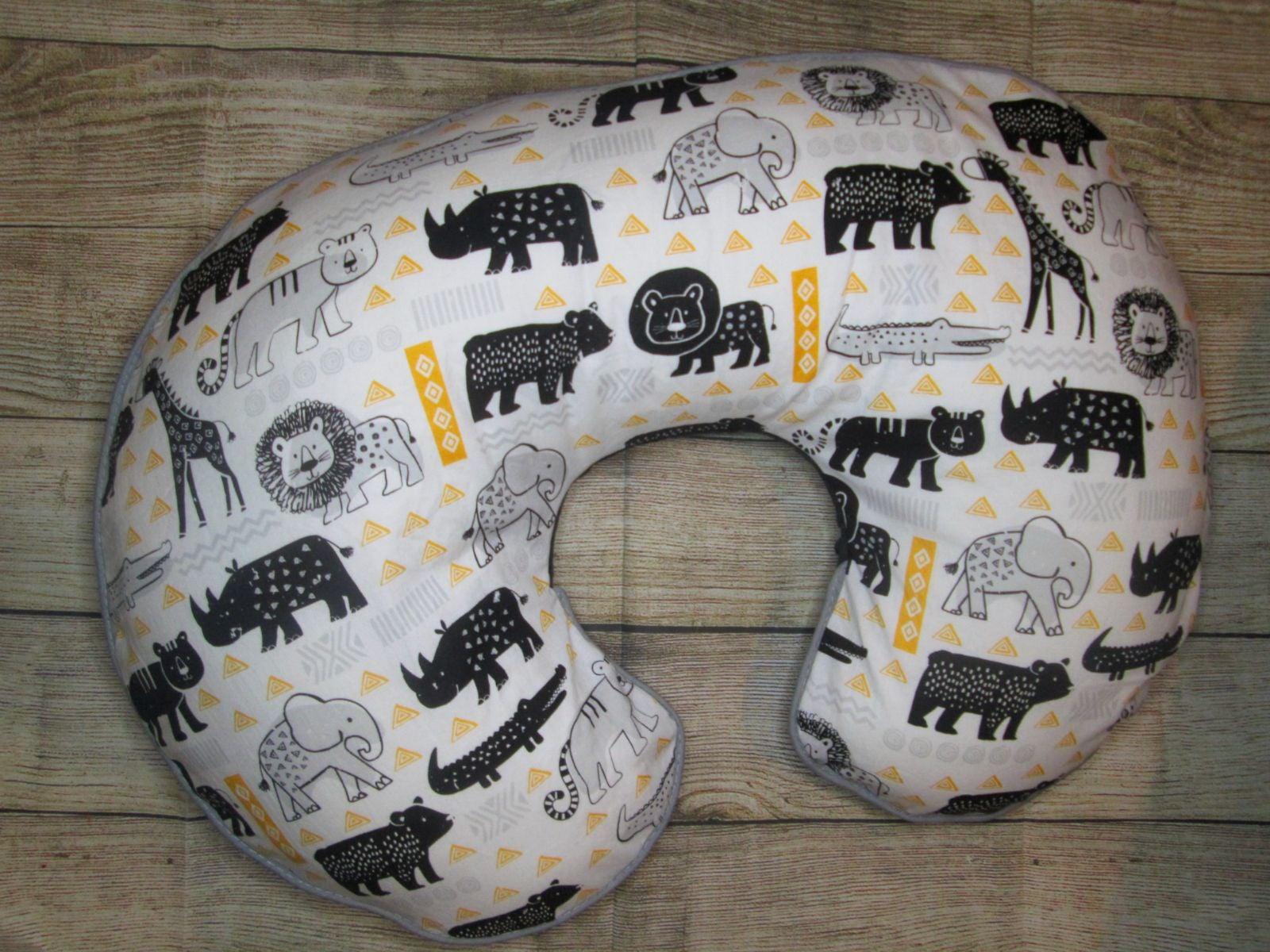 Handmade boppy nursing pillow cover