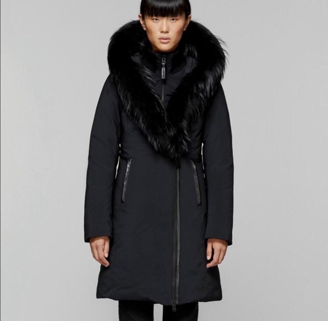 "LIKE NEW Mackage ""Trish"" Jacket Real fur"