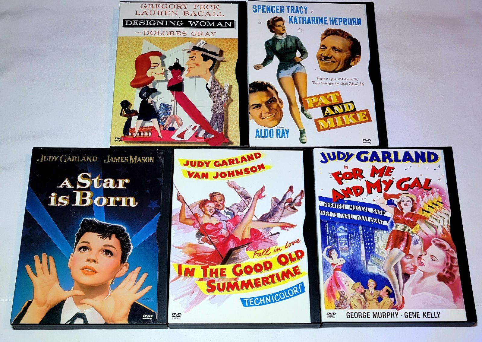 Designing Woman, A Star Is Born... DVD