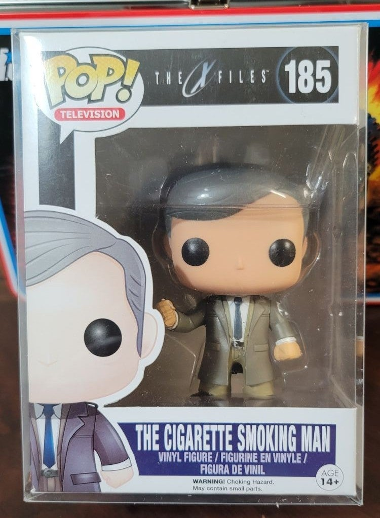 Funko Pop  X Files Vaulted Smoking Man