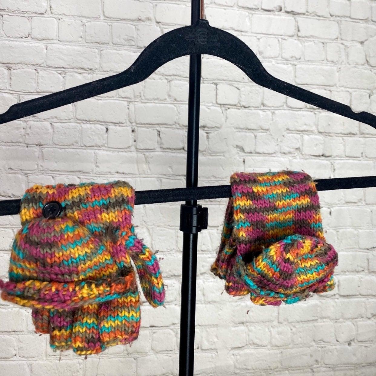 Womens Convertible Winter Gloves