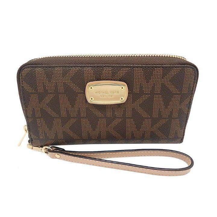 Large Flat MF Phone Case Wristlet Wallet
