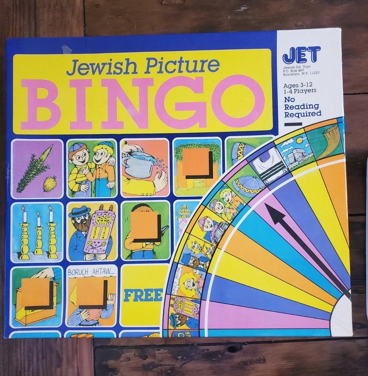 Jewish picture bingo