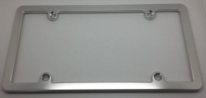 Billet aluminum License Plate Frame CSL