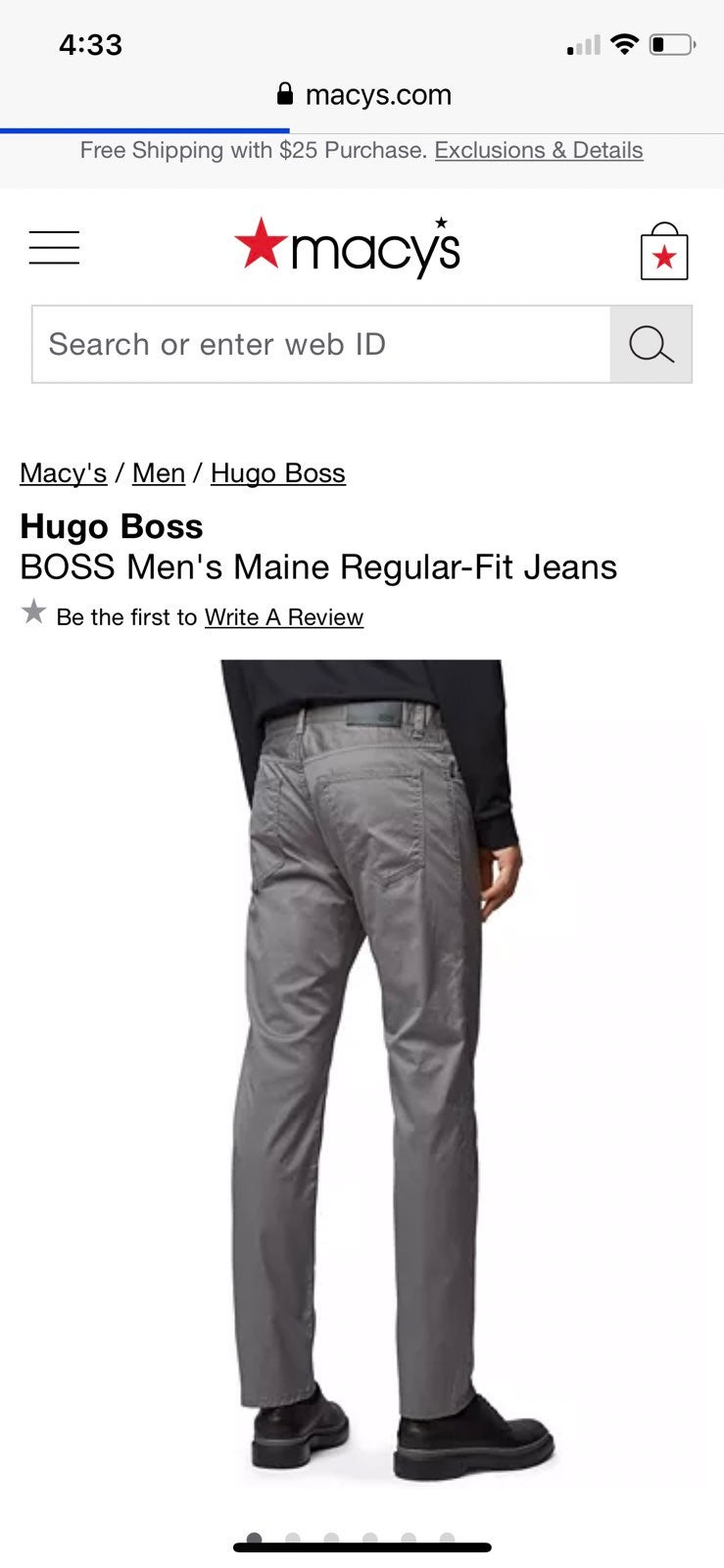 Hugo Boss Maine Pants 34
