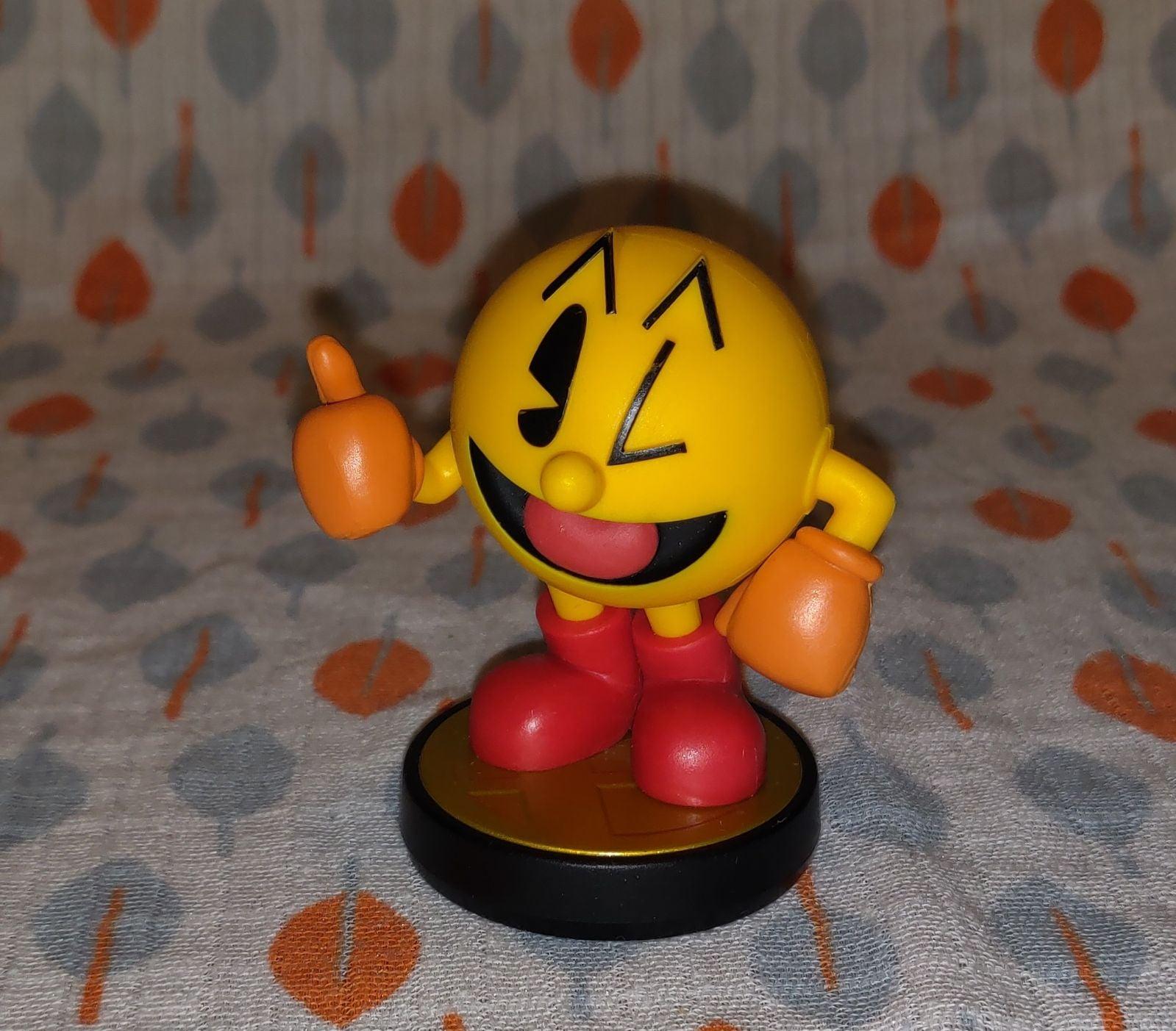 Super Smash Bros. Pac Man Amiibo