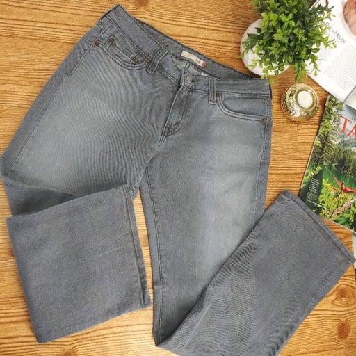 LEVIS 545 low bootcut gray jeans size 8M