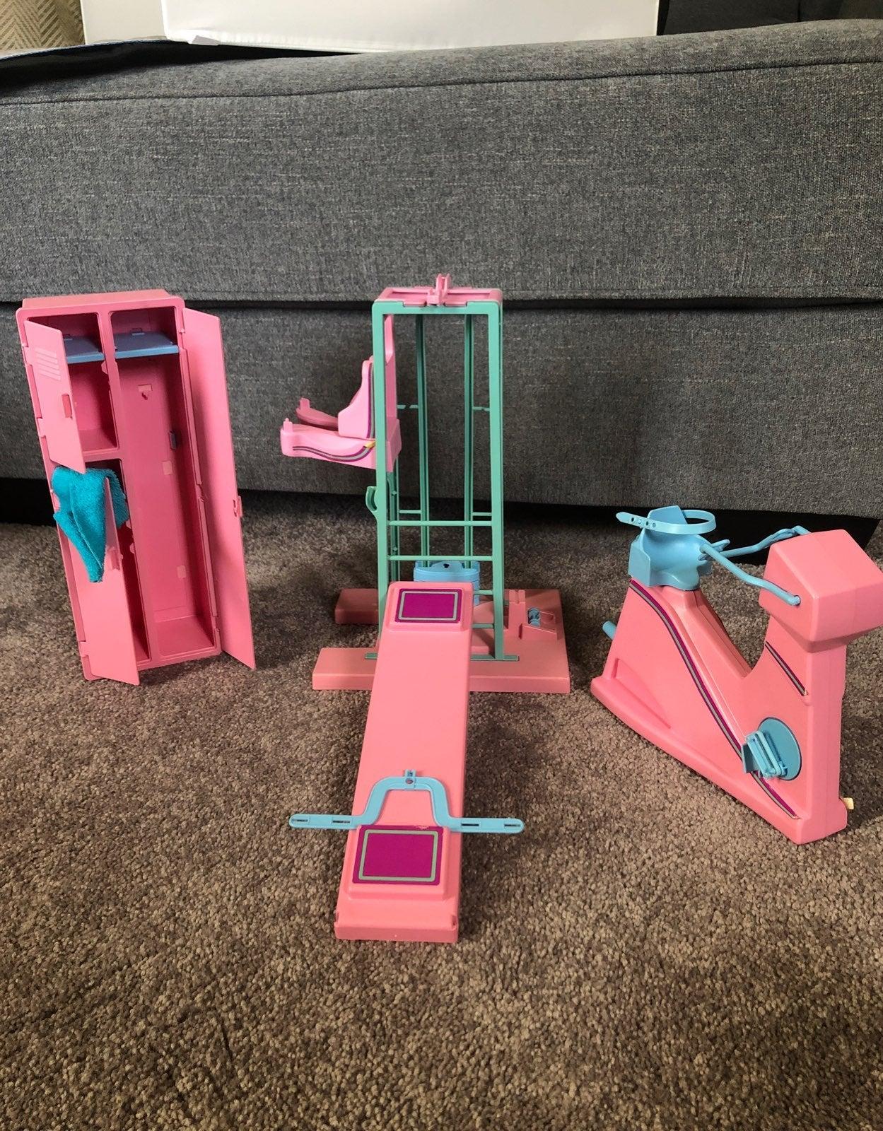 Vintage Barbie Workout Center
