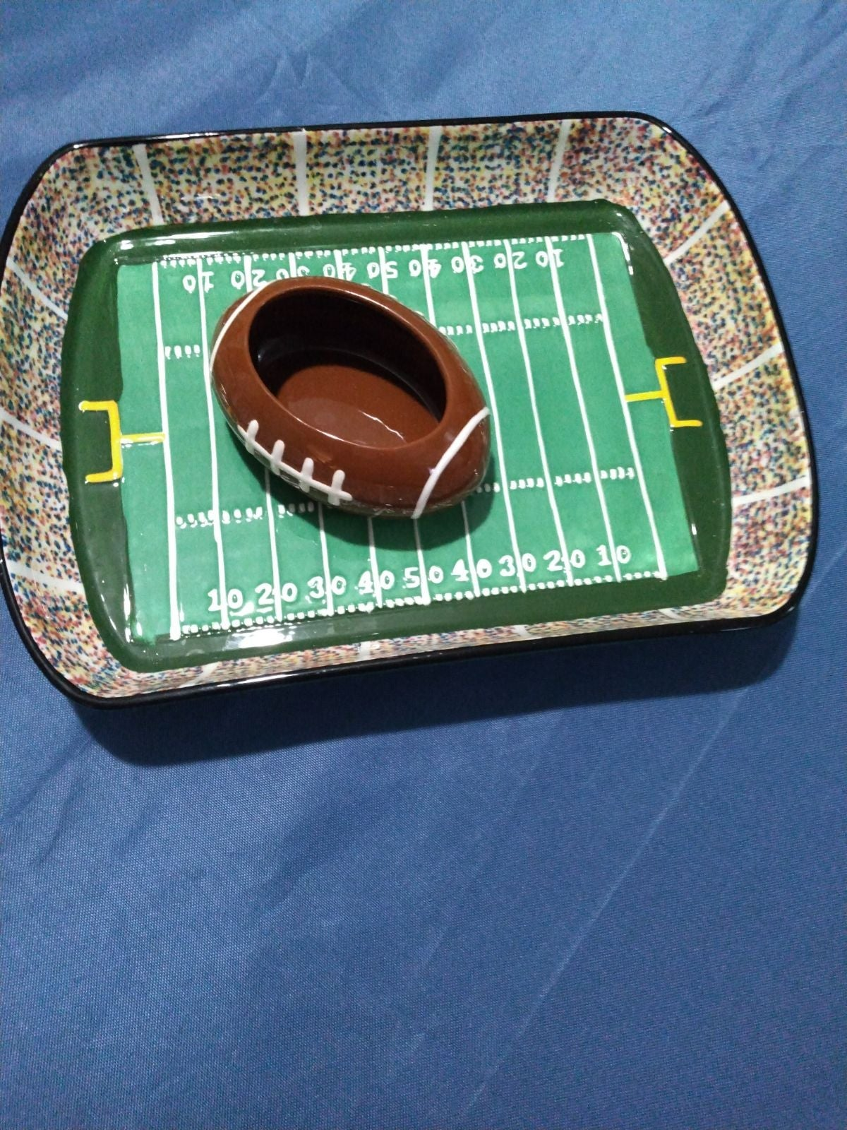 Ceramic Football Stadium with Football c
