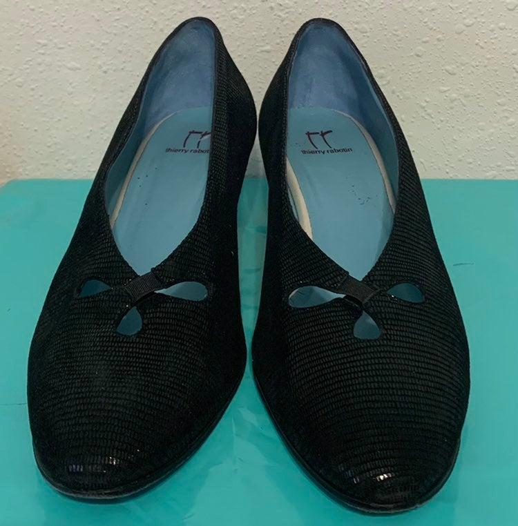 Thierry Rabotin Reno Cut Out Python Shoe