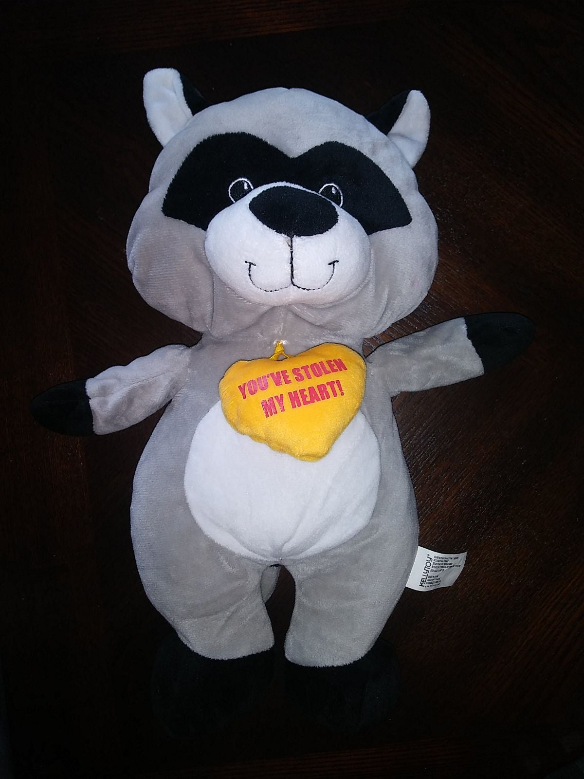 "You've Stolen My Heart Raccoon 14"" Kelly"