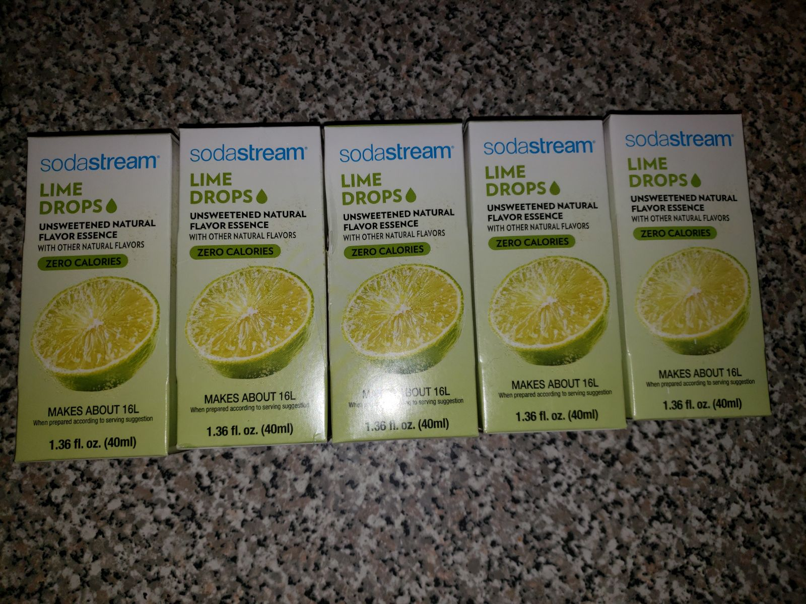 Sodastream Lime Drops Zero Calories (5)