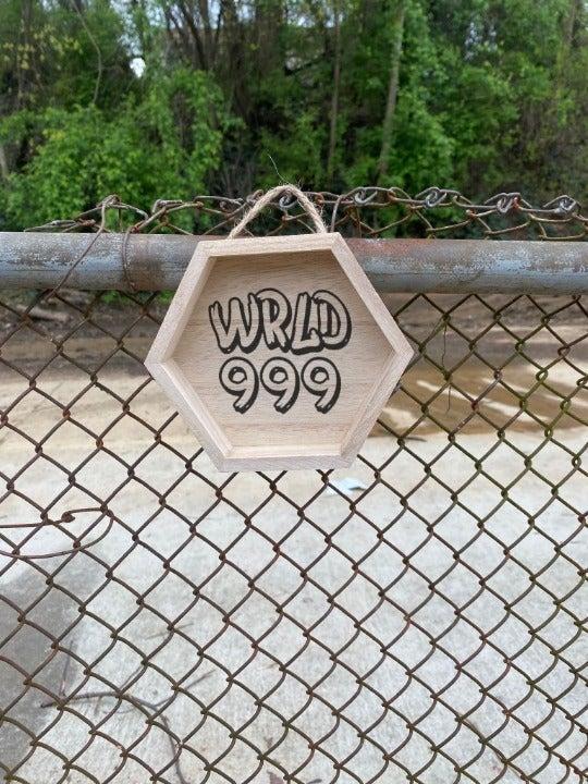 Juice Wrld Laser Engraved Wall Sign