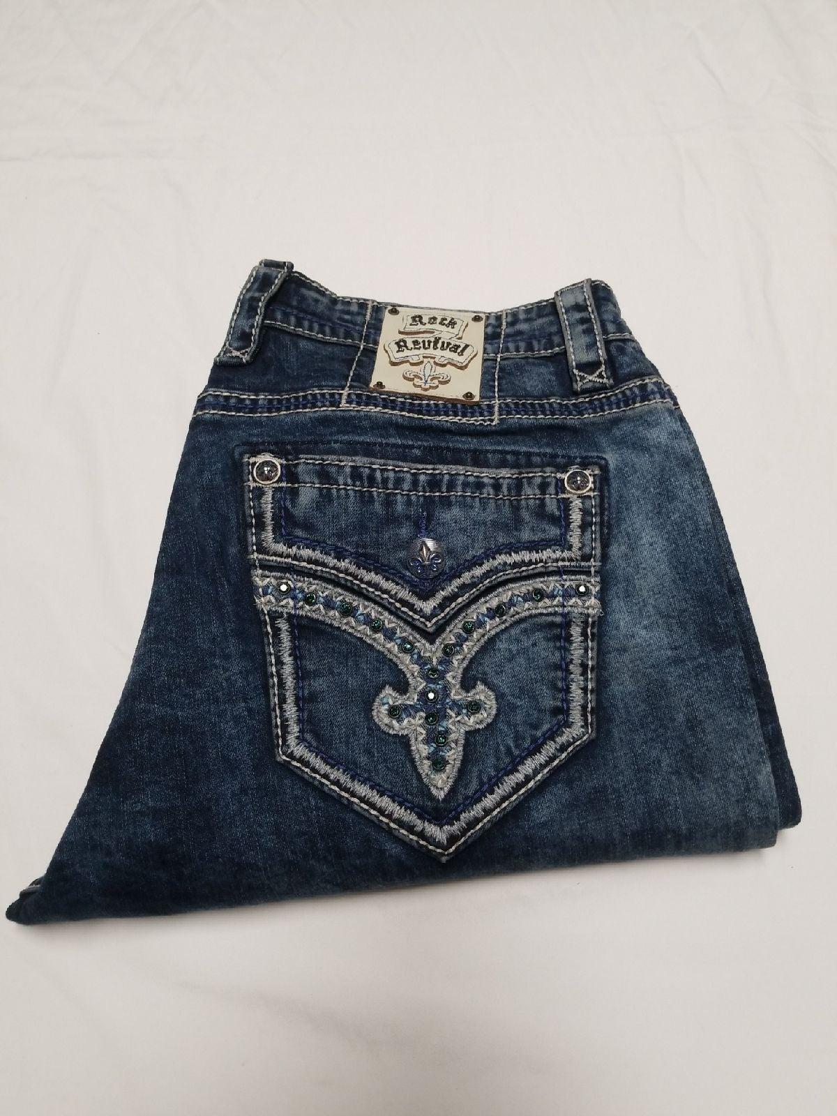 Rock Revival jeans men 40x33