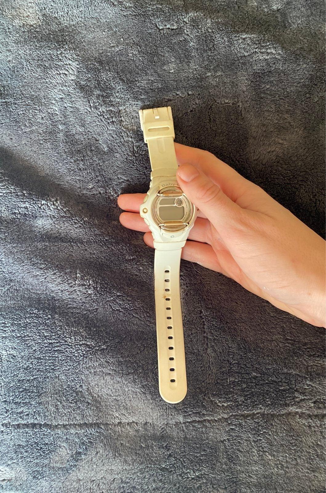 White Baby G Watch