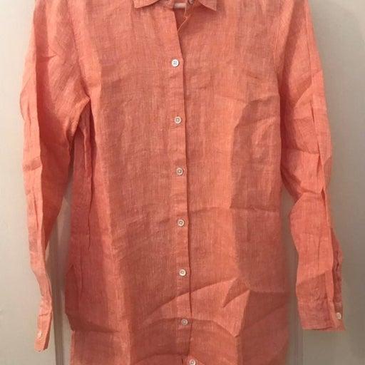 J Jill Linen Tunic Shirt