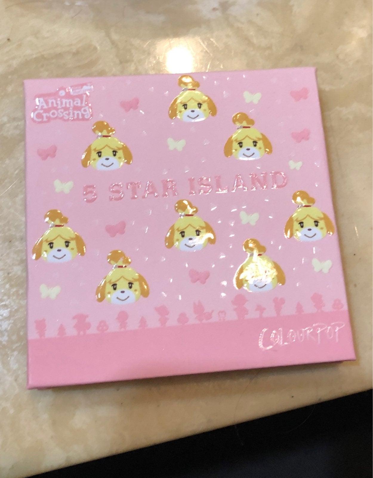 ColourPop Animal Crossing 5 Star Island