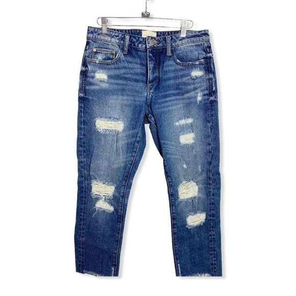 Gilded Intent High Rise Mom Jeans