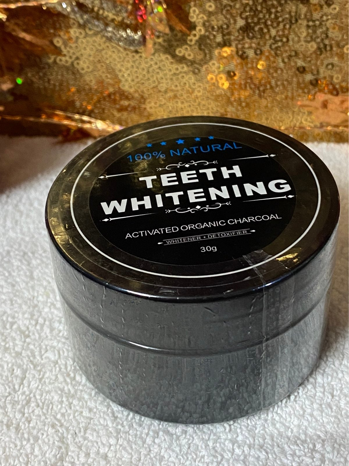 teeth whitening organic charcoal