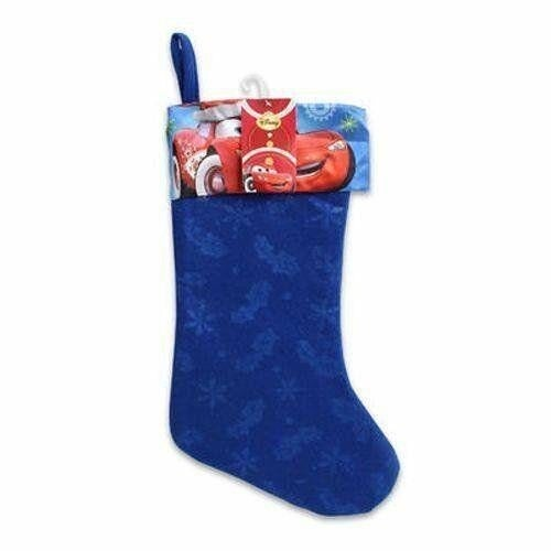"Disney CARS Blue 16"" Christmas Stocking"