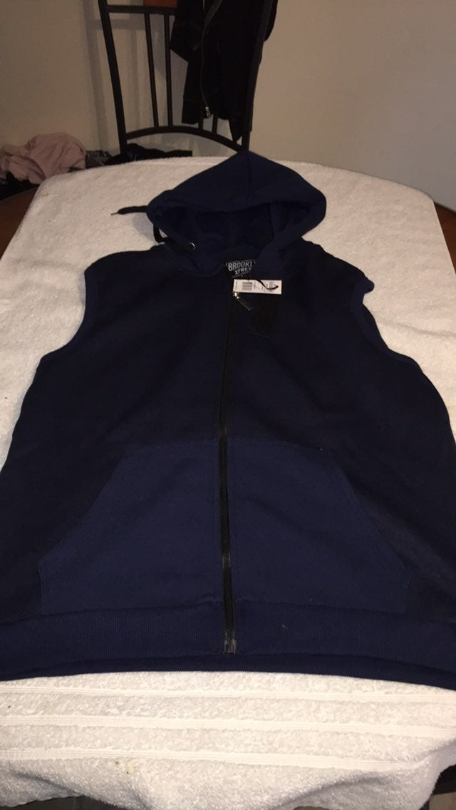 Brooklyn express vest with hood