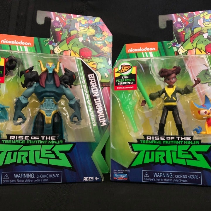 Nickelodeon Rise Of TMNT Action Figures