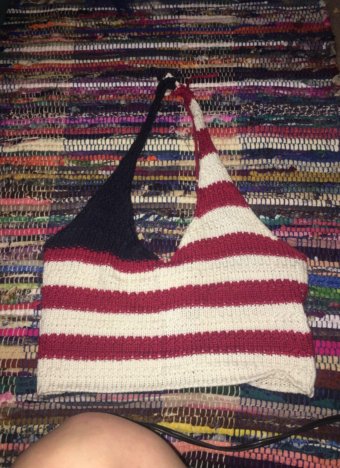 American Crochet Top