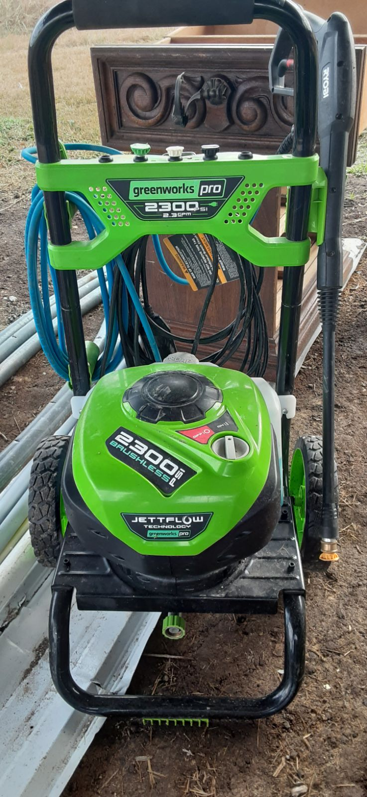 Greenworks Pro 2300-PSI 2.3-GPM Cold Wat