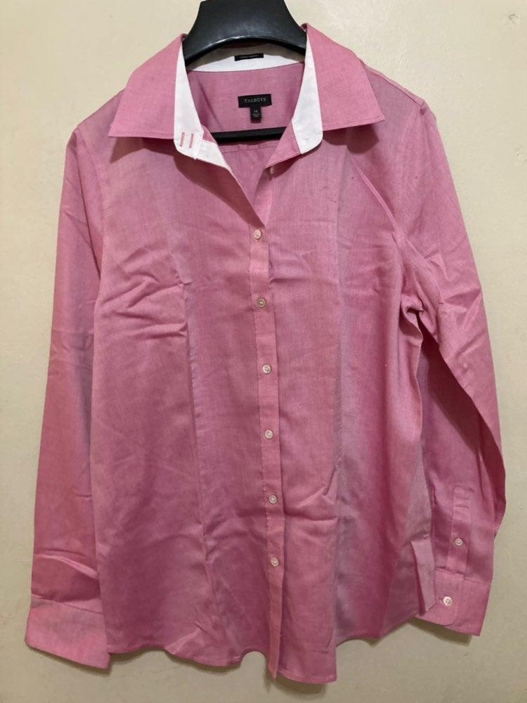 Talbots Career Style Dress Shirt 14