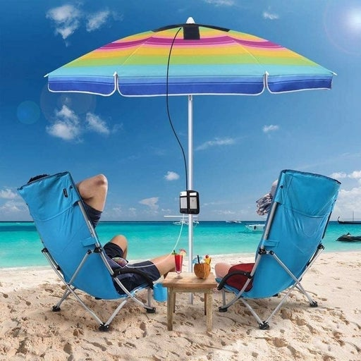 Solar 400W statn/umbrella panel system