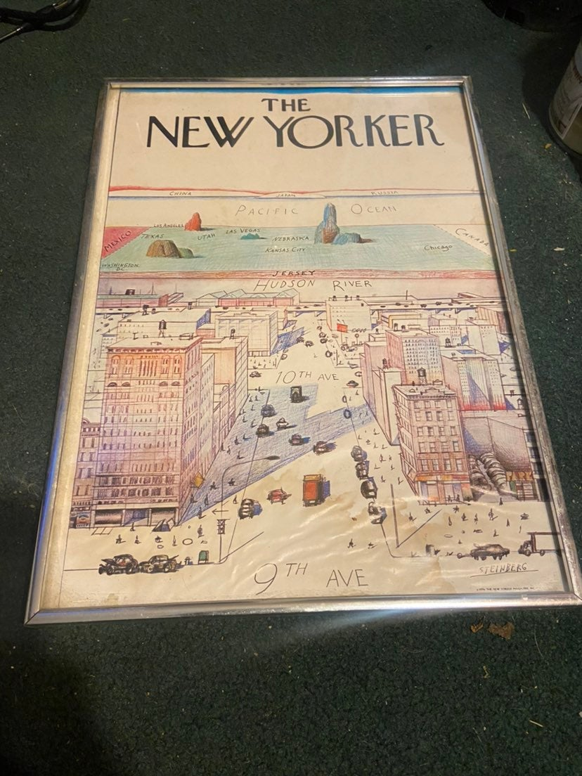 The New Yorker Lithograph 1976